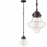 ELK 67124-1 Gramercy Contemporary Oil Rubbed Bronze Mini Hanging Light