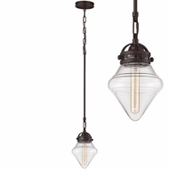 ELK 67125-1 Gramercy Modern Oil Rubbed Bronze Mini Pendant Light Fixture