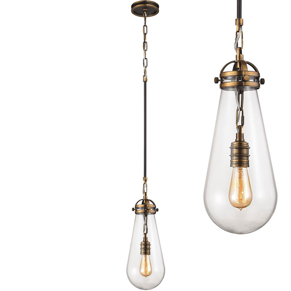 Elk 67130 1 Gramercy Modern Antique Br Oil Rubbed Bronze Mini Hanging Pendant Lighting Loading Zoom