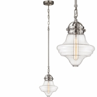 ELK 67144-1 Gramercy Contemporary Satin Nickel Mini Hanging Light Fixture