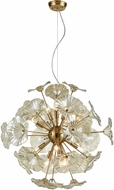 ELK 68146-12 Vershire Modern Satin Brass Pendant Hanging Light