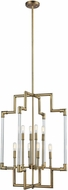 ELK 69206-8 Brandon Classic Brass Foyer Lighting