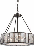 ELK 70212-3 Ethan Modern Tiffany Bronze Drum Hanging Pendant Lighting