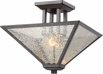 ELK 70274-2 Plano Modern Iron Rust Home Ceiling Lighting
