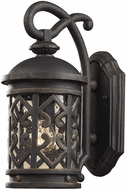 ELK 7201EW/71 Tuscany Coast Traditional Weathered Charcoal Exterior Lighting Sconce
