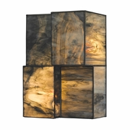 ELK 72070-2 Cubist Modern Brushed Nickel Light Sconce