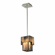 ELK 72072-1 Cubist Modern Brushed Nickel Hanging Light