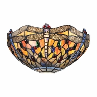 ELK 72077-1 Dragonfly Tiffany Dark Bronze Lighting Sconce