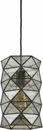 ELK 72121-1 Tetra Contemporary Oil Rubbed Bronze Mini Ceiling Pendant Light