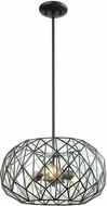 ELK 72222-3 Tetra Modern Oil Rubbed Bronze Drop Lighting