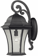 ELK 7331EW/71 Davis Square Traditional Weathered Charcoal Exterior Wall Sconce Lighting