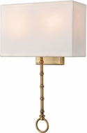 ELK 75040-2 Shannon Warm Brass Wall Light Fixture