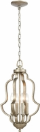 ELK 75104-4 Lanesboro Dusted Silver Mini Pendant Light
