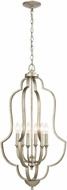 ELK 75105-6 Lanesboro Dusted Silver Lighting Pendant