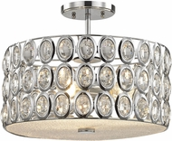 ELK 81154-3 Tessa Polished Chrome Ceiling Lighting