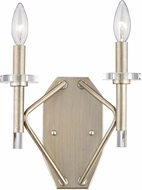 ELK 81200-2 Lacombe Modern Aged Silver Wall Lighting