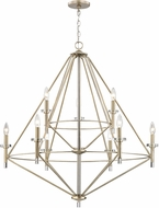 ELK 81204-6-3 Lacombe Modern Aged Silver 36  Chandelier Lighting