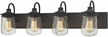 ELK 81213-4 Hamel Modern Oil Rubbed Bronze 4-Light Bathroom Light Fixture