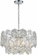 ELK 81235-4 Lavique Polished Chrome 19  Drop Lighting Fixture