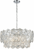 ELK 81236-5 Lavique Polished Chrome 25  Pendant Lighting