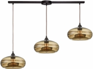 ELK 85212-3L Hazelton Modern Oil Rubbed Bronze Multi Hanging Light Fixture