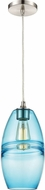 ELK 85241-1 Melvin Modern Satin Nickel Mini Drop Ceiling Light Fixture
