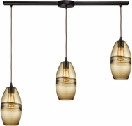 ELK 85251-3L Melvin Contemporary Oil Rubbed Bronze Multi Pendant Lamp