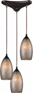 ELK 85256-3 Illuminessence Contemporary Oil Rubbed Bronze Multi Hanging Light
