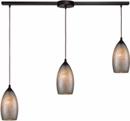 ELK 85256-3L Illuminessence Modern Oil Rubbed Bronze Multi Pendant Light Fixture