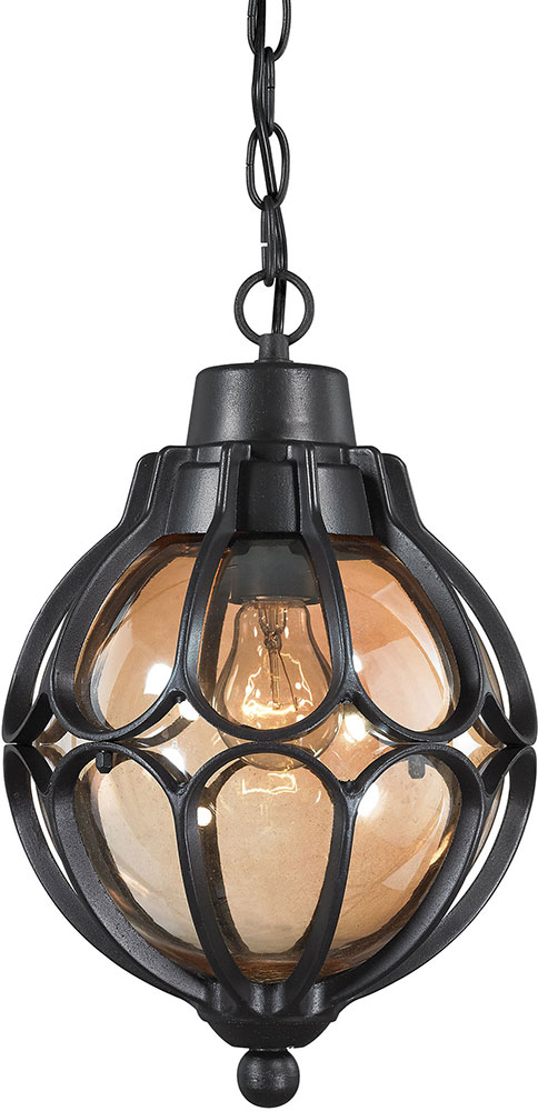 black outdoor lantern lights edison bulb wall elk 870231 madagascar matte black outdoor hanging pendant light loading zoom light