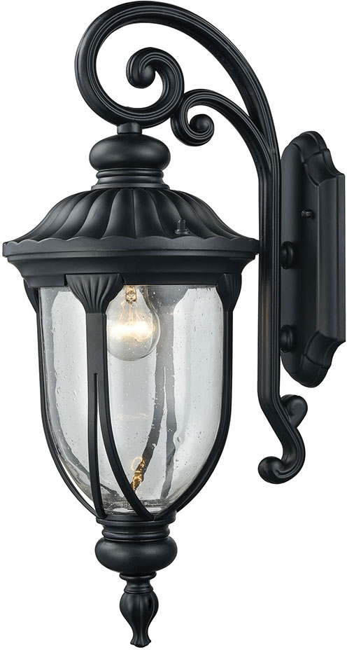 Elk 87101 1 derry hill matte black outdoor wall lamp elk 87101 1 elk 87101 1 derry hill matte black outdoor wall lamp loading zoom aloadofball Image collections