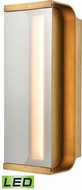 ELK 88130-LED Forma Contemporary Antique Bronze LED Outdoor Wall Sconce Light