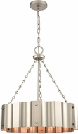 ELK 89057-4 Clausten Modern Matte Nickel 21  Hanging Light Fixture