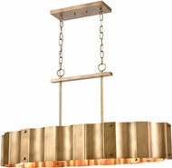 ELK 89068-4 Clausten Modern Natural Brass Island Lighting