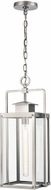 ELK 89174-1 Crested Butte Contemporary Antique Brushed Aluminum Outdoor Pendant Lighting