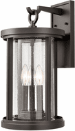 ELK 89382/3 Brison Contemporary Oil Rubbed Bronze Outdoor 10 Wall Light Sconce