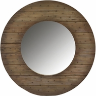 ELK Home 1019003 Shiplap Brown Wall Mounted Mirror