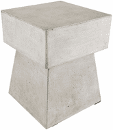 ELK Home 157-019 Contemporary Stool In Polished Concrete