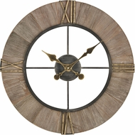 ELK Home 3138-503 Old Boy Grey / Gold Wall Clock
