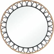 ELK Home 3200-260 Fisher Island Contemporary Natural Wood Vanity Mirror