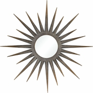 ELK Home 326-8755 Newtown Star Modern Antique Gold Wall Mirror