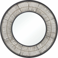 ELK Home 351-10761 Recalibrate Grey Rattan / Black Wall Mirror