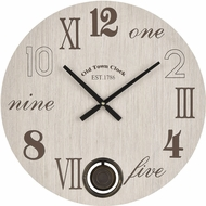 ELK Home 351-10787 Stella Light Washed Grey / Brown Wall Clock