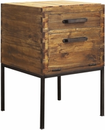 ELK Home 5419503 Chef's Corner Country Woodland Stain Accent Table