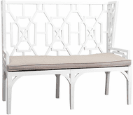 ELK Home 6919501 Lifestyle Contemporary White Love Seat