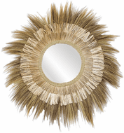 ELK Home 7011-2055 Lauren Contemporary Brown Wall Mirror