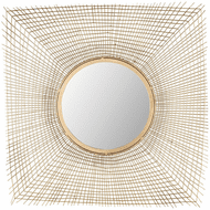 ELK Home 8990-050 Zakros Modern Gold Wall Mounted Mirror