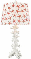 Elk Home 981142 Reef Nautical Coral / White Table Top Lamp