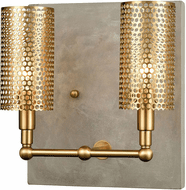 ELK Home D3803 Fuego Contemporary Gold Wall Sconce