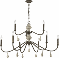 ELK Home D3960 French Connection Brown Chandelier Lighting